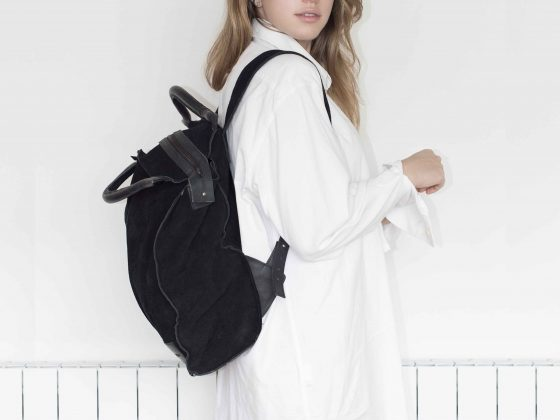 Backpack Portanote 17 Gamuza 1