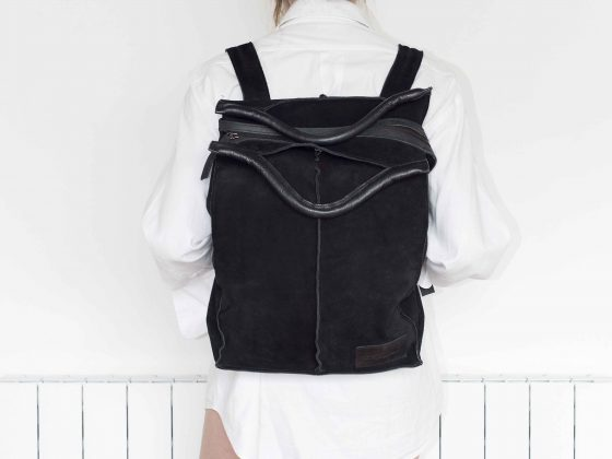 Backpack Portanote 17 Gamuza 2