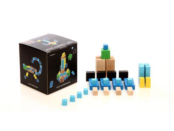Mini Cubes Mon Petit Art (turquesa)