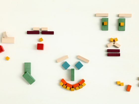 Mini Cubes Mon Petit Art Rojo (detalle)
