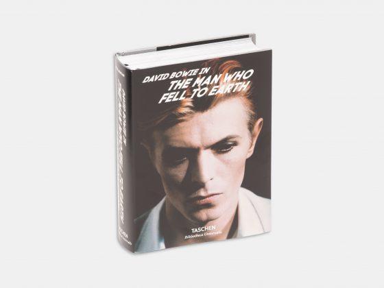 Libro David Bowie in: The man who fell to earth en Tienda Malba