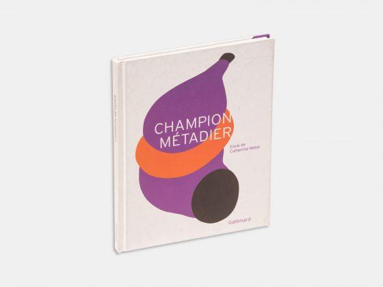 Libro Champion Métadier de Catherine Millet en Tienda Malba