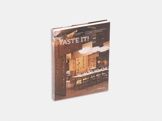 Libro Tasteit! Nuevo diseño de Restaurantes en Tienda Malba