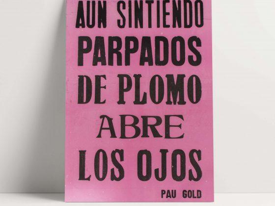 Set de Afiches Pau Gold