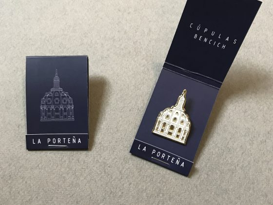 Pin Serie Cúpulas Bencich – Caja porta pin