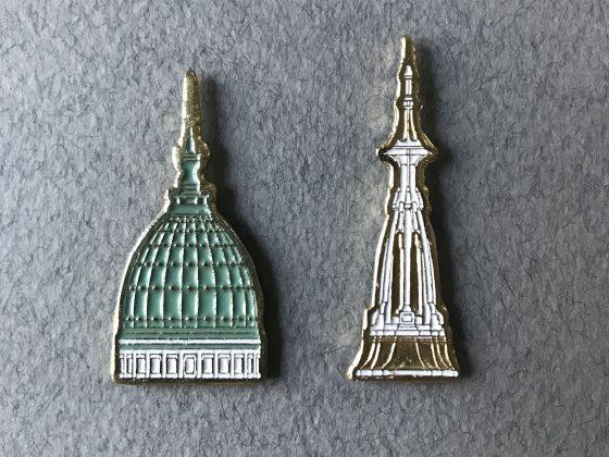 Pins Serie Cúpulas Par Congreso-Molino